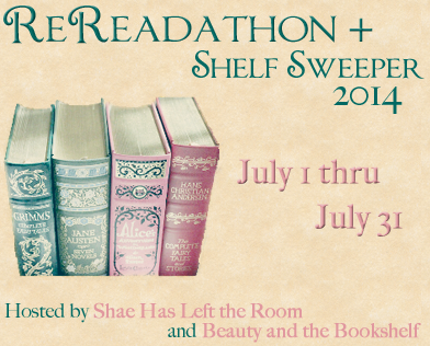 The Rereadathon and Shelf Sweeper 2014