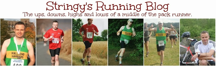 Stringy's Running Blog