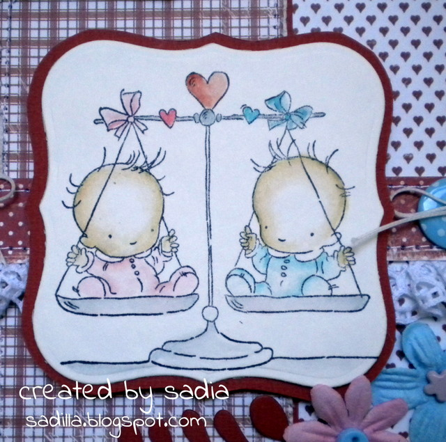 Eccezionale Sadilla's Blog: Benvenuti gemelli! BK34