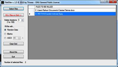 filekiller hapus file secara permanen