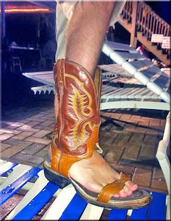 Sandália bota masculina vaqueiro cowboy