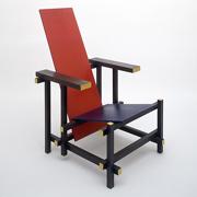 Las sillas de gerrit rietveld blog arquitectura y dise o for Silla roja y azul