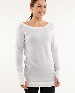 lululemon white chai time sweater