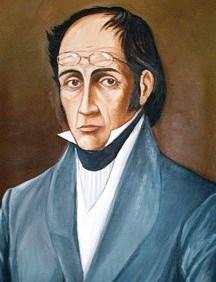 Dibujo de Simón Rodríguez