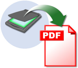 scan documents in PDF format