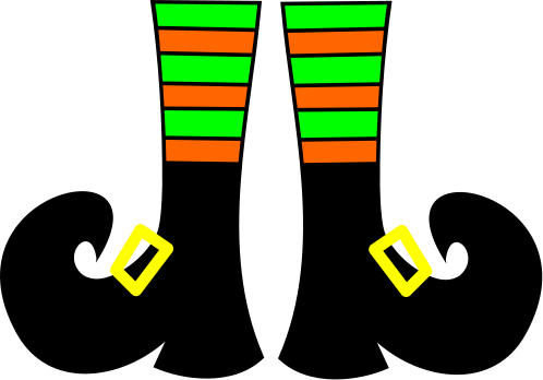 Witch Shoes Templates Is It For PARTIES FREE
