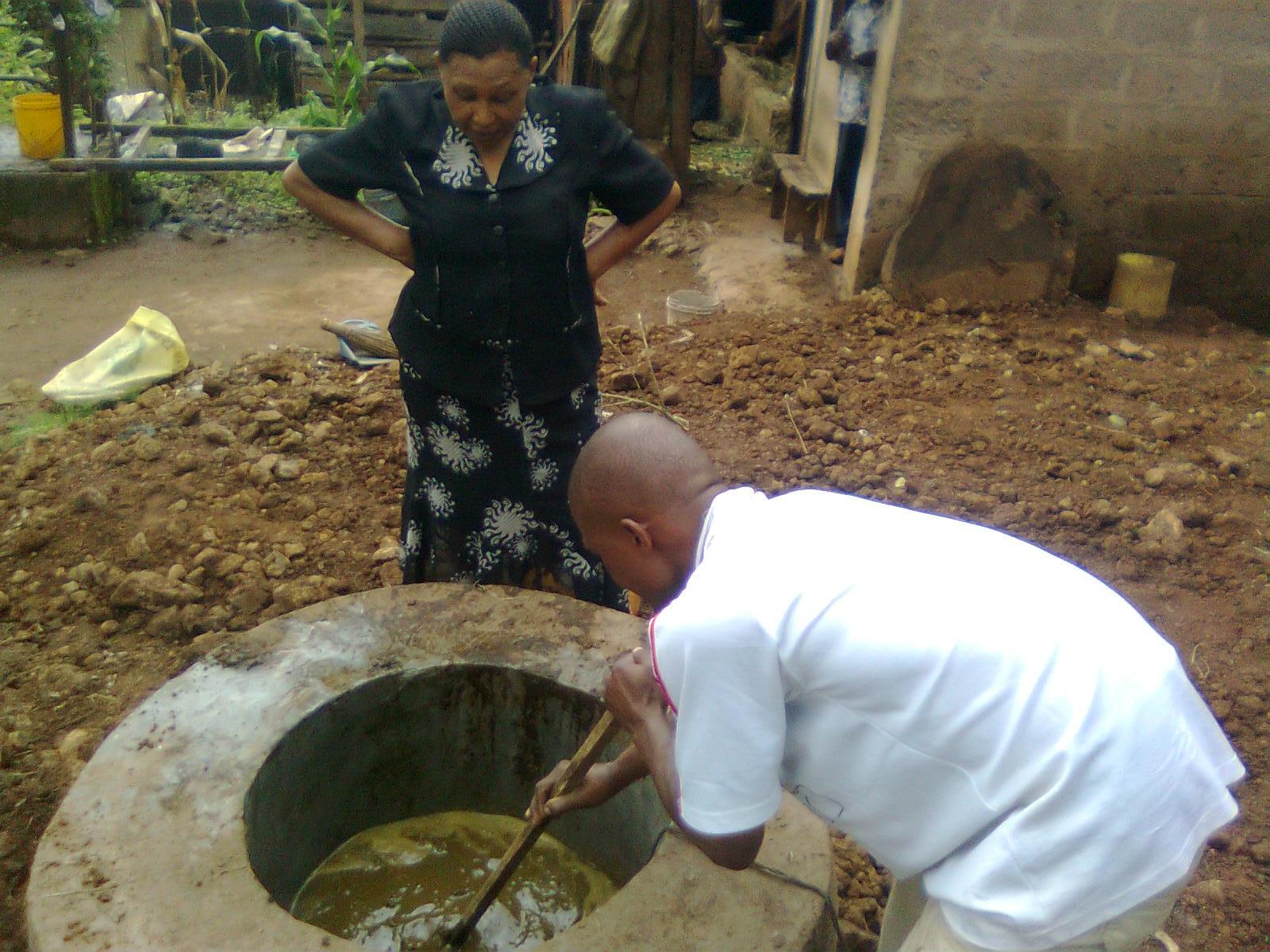 Dar Es Salaam Biogas Plant Photos Anaerobic Digester Large Diagram Blog