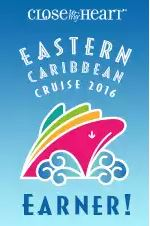 I EARNED the Eastern Caribbean Cruise!!