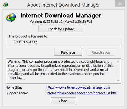 Internet Download Manager (IDM) 6.23 Build 19 Retail