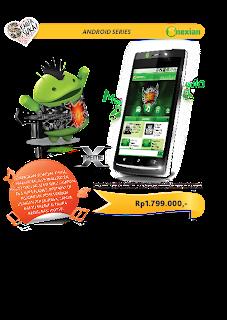 harga spesk android Nexian Xtreme NX-A899  ponsel layar sentuh terbaik 2012