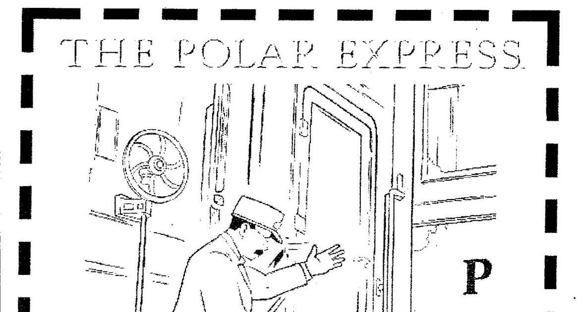 unique comics animation coloring pages of polar train express