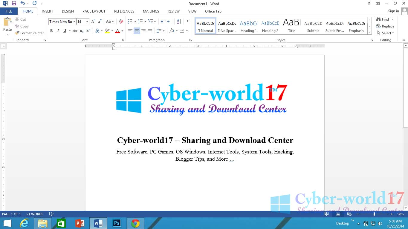 how to crack microsoft office 2013 in windows 10