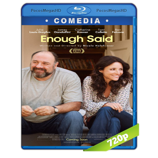 Enough Said(2013) BrRip 720p Latino/Inglés AC3 5.1+subs‏