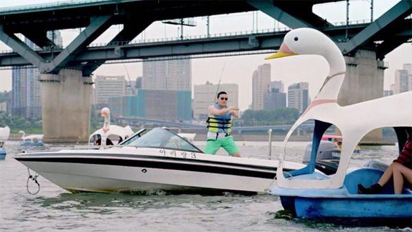 5 Tempat yang Mendadak Terkenal Karena Lagu Gangnam Style: Sungai Hangang