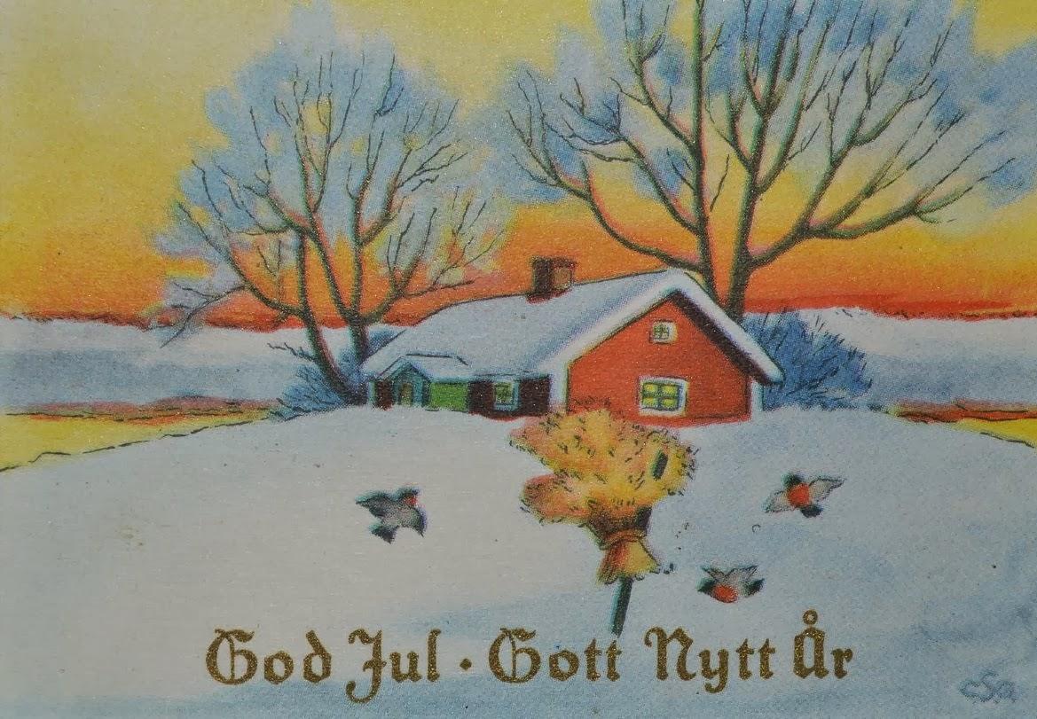 SWEDISH THOUGHTS: Christmas card