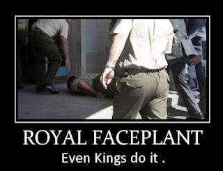 Royal Faceplant