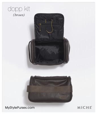 Miche Men's Dopp Kit or Travel Bag from MyStylePurses.blogspot.com