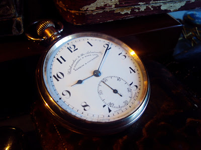 RARE ANTIQUE GOLD POCKET WATCH R GILBERT & SONS, WATCHMAKERS TO THE ADMIRALTY