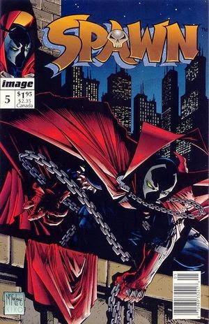 Spawn #5 comic cover