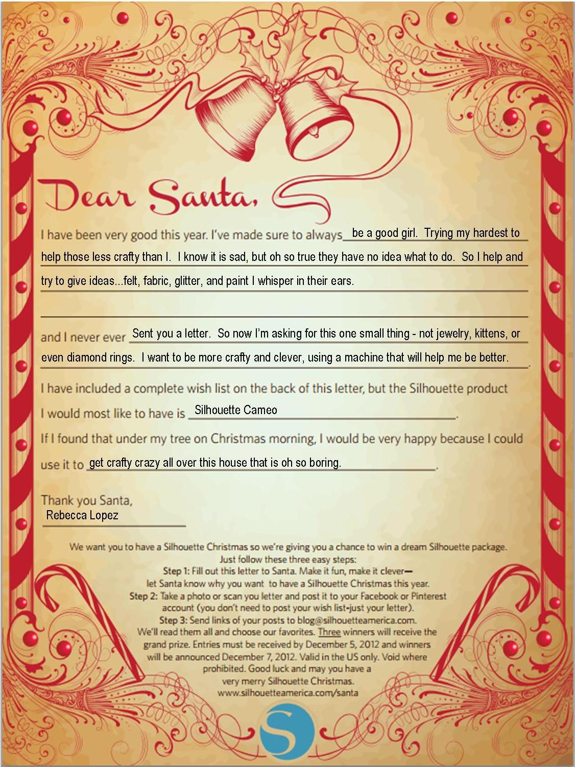 Santa s Letters Details