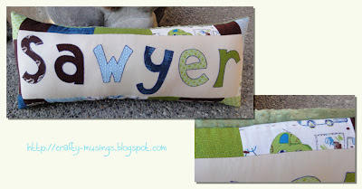 Sawyer pillow collage