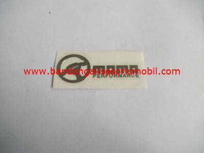 Emblem Alumunium 3M Kecil 1 Pcs Momo