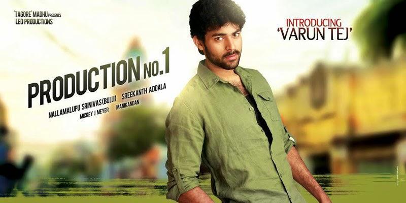 Varun Tej debut Film First Look Posters Wallpapers