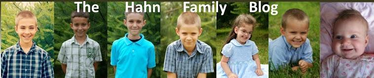 The Hahn Family Blog