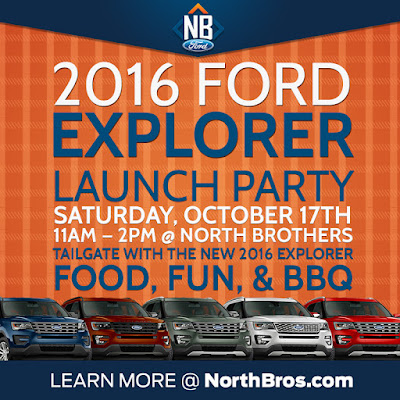 2016 Ford Explorer Launch Party at North Brothers Ford