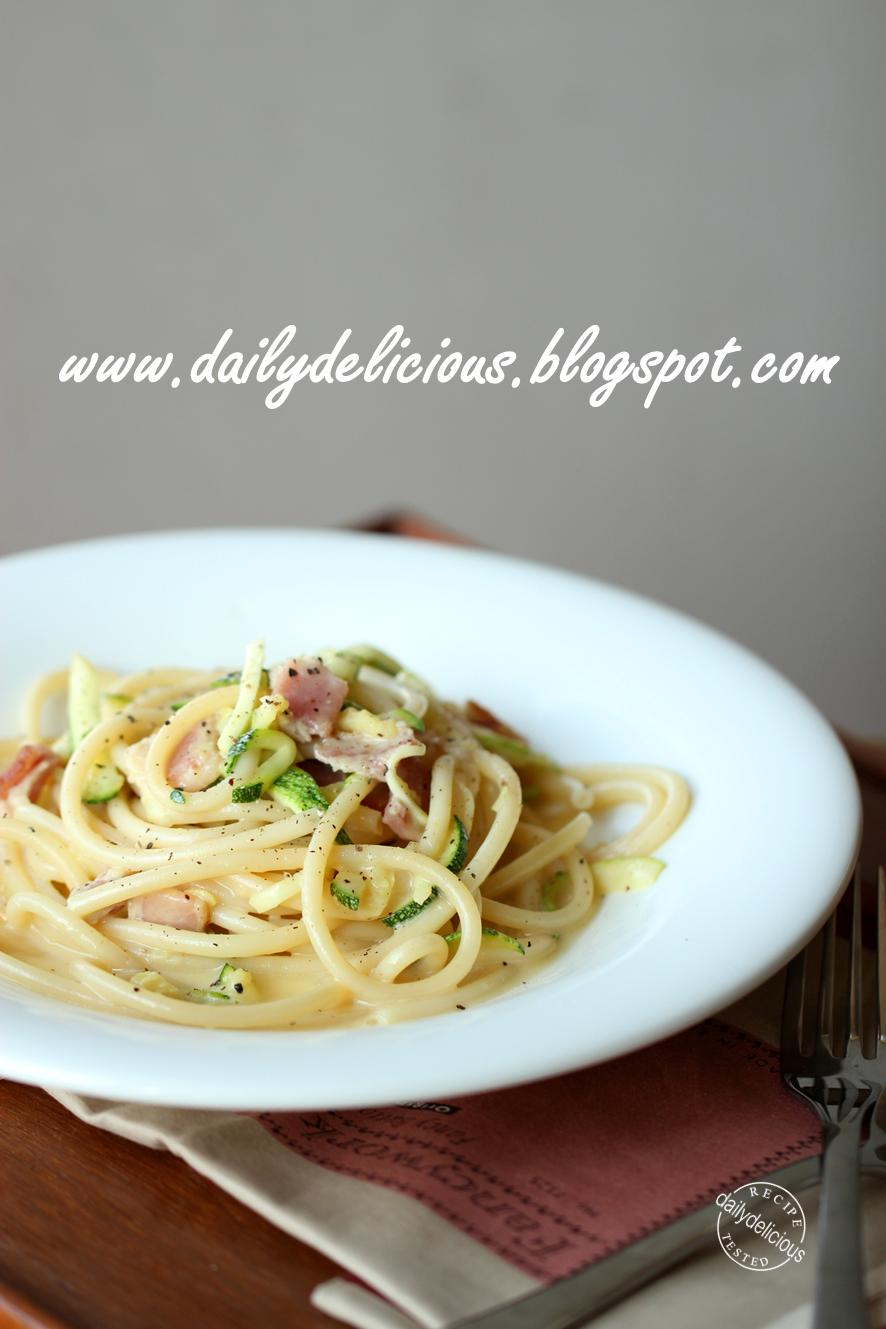 how to cook creamy carbonara