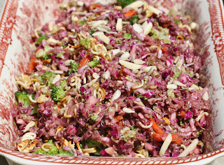 Crunchy Asian Slaw from Best of Long Island and Central Florida