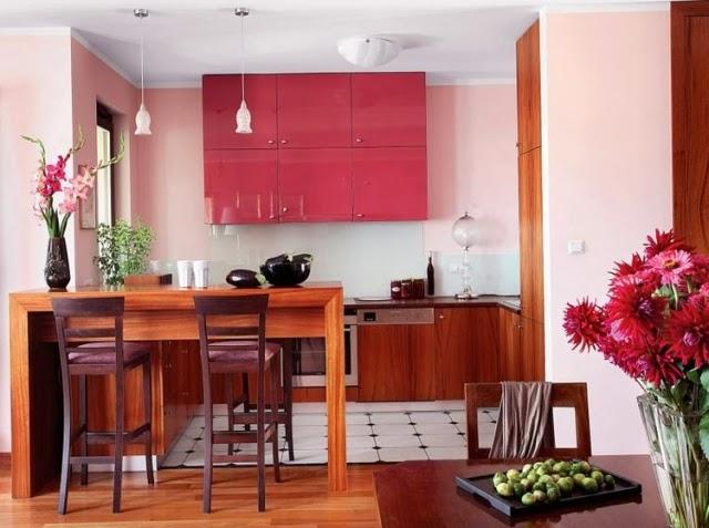 10 cocinas con comedor de diario colores en casa for Comedor de diario