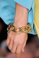 Метална гривна верига Diane von Furstenberg пролет-лято 2013