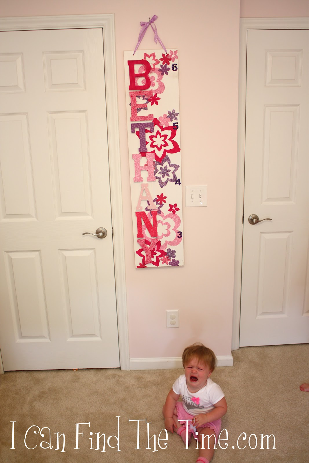 Wooden growth chart with fabric appliques a personalized wooden growth chart with fabric appliqus so easy and so custom you just have to find the time nvjuhfo Image collections