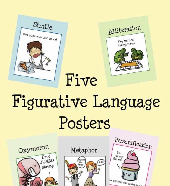 Figurative language lesson grade 5