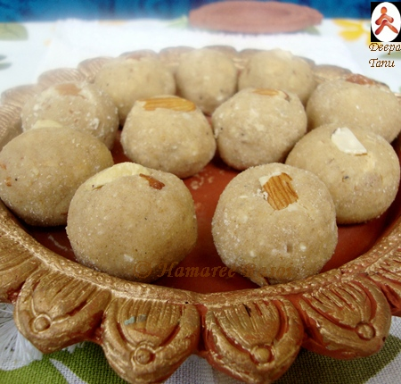 Aate ki Pinni (Wheatflour Sweet)