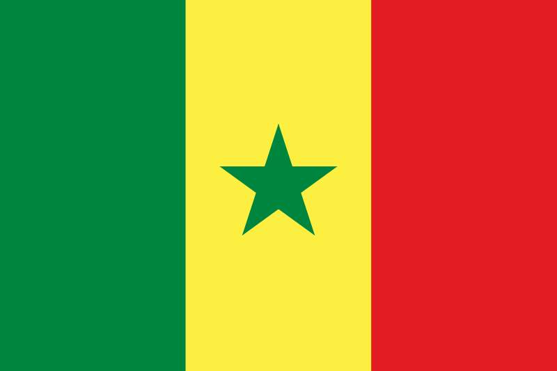 Gambar Bendera Senegal