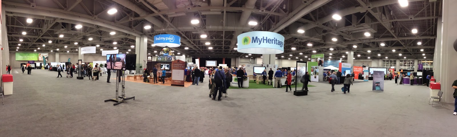 Panorama View of Expo Hall from the Front Entrance