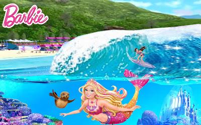 imagens para colorir da barbie em vida de sereia - Desenhos da Barbie A Sereia das Perolas para colorir
