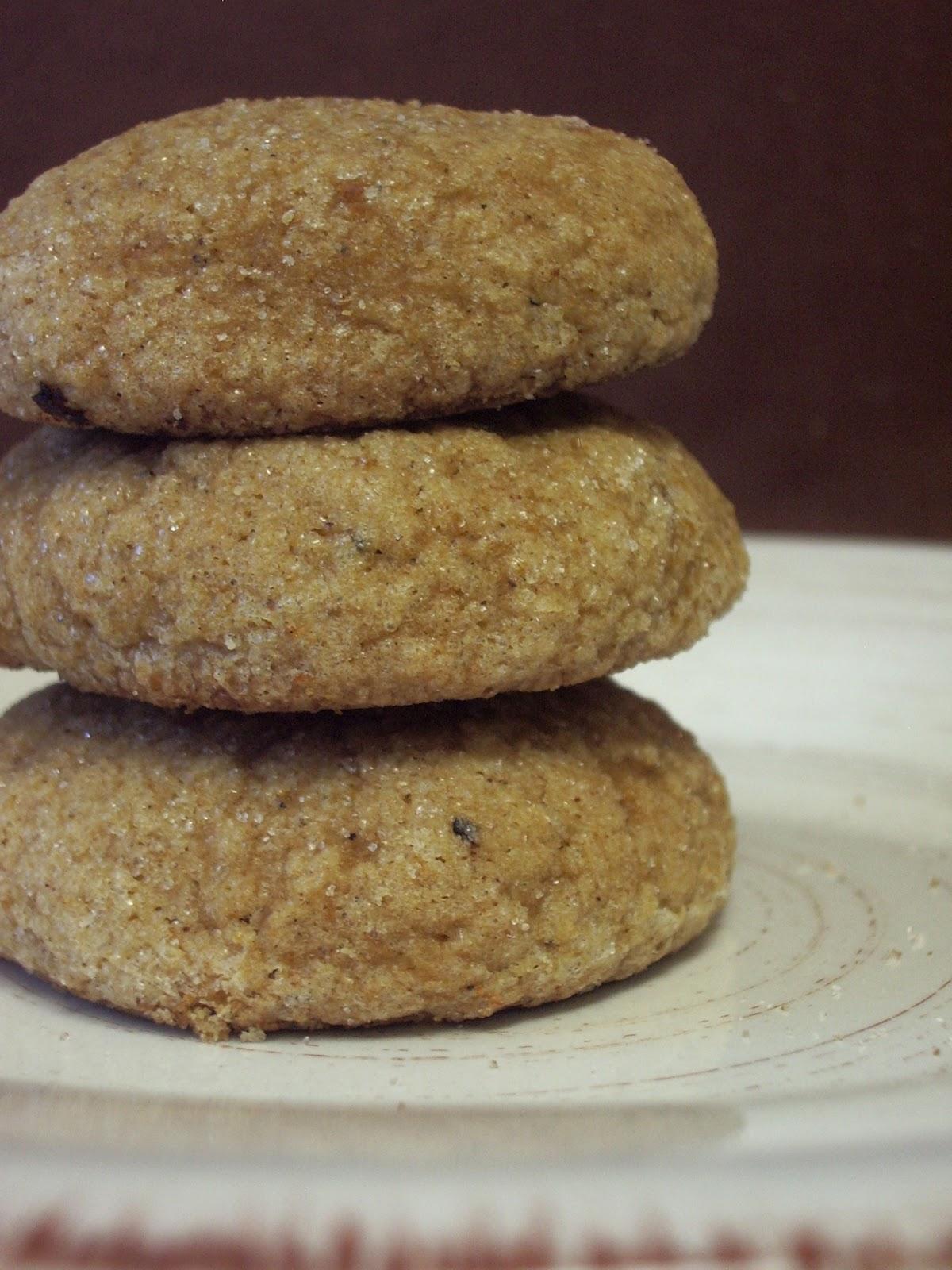 KitchenJoy: Pumpkin Molasses Cookies