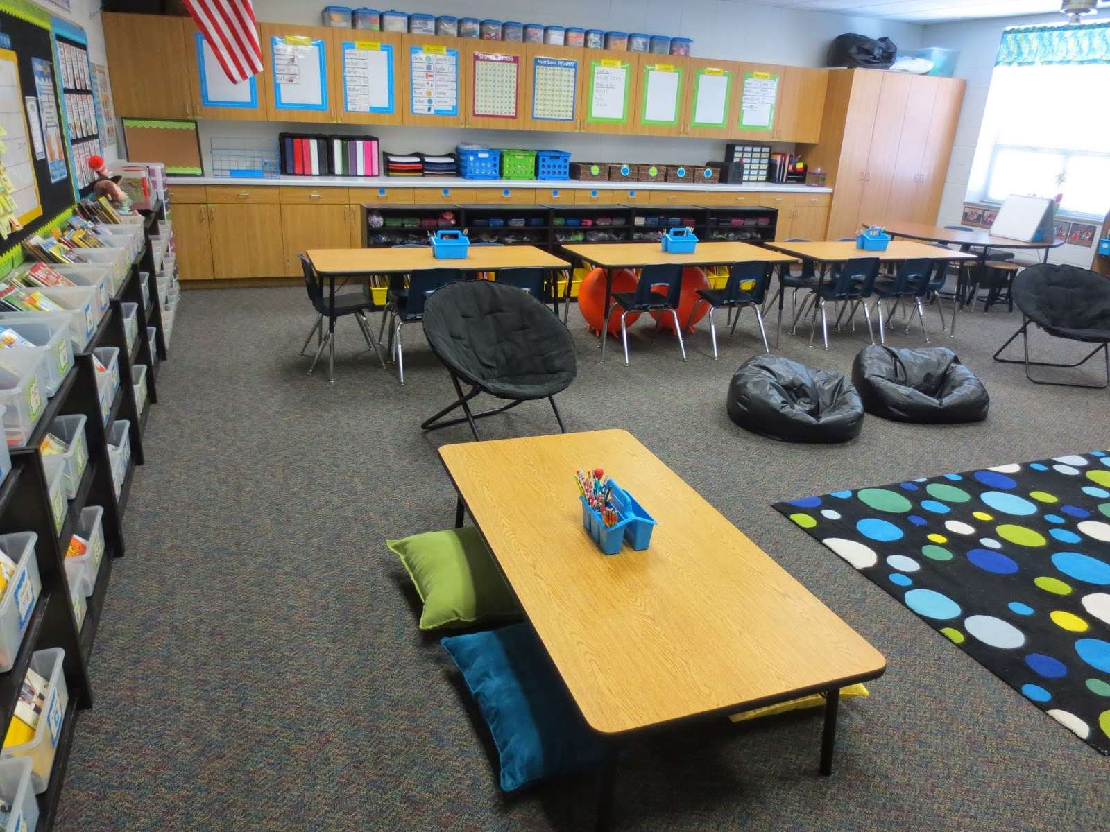 Classroom Ideas Second Grade ~ Setting up for second mid year update alternative seating