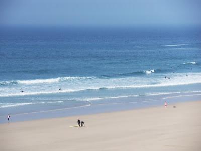 Pentire beach Newquay