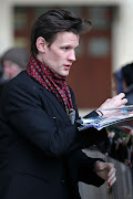 PhotosMatt Arriving at Radio One (matt smith matt smith jenna louise coleman ckvrx)
