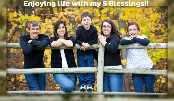 Everyday life with my 5 Blessings
