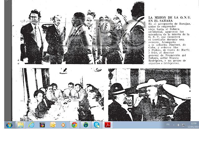 Hace 39 años llegó la primera comisión de la ONU al Sahara