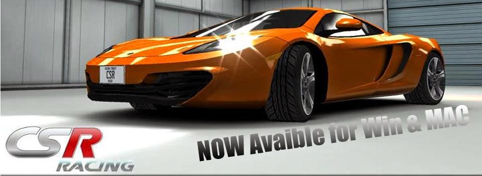 CSR Racing Game for PC