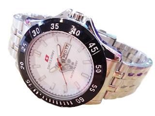 Jam Tangan Swiss Army | Rantai | Tanggal | Pria | Murah | Grosir | Harga
