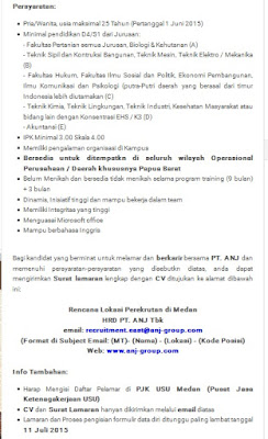 Lowongan kerja resmi PT Auatindo Nusantara Jaya Tbk