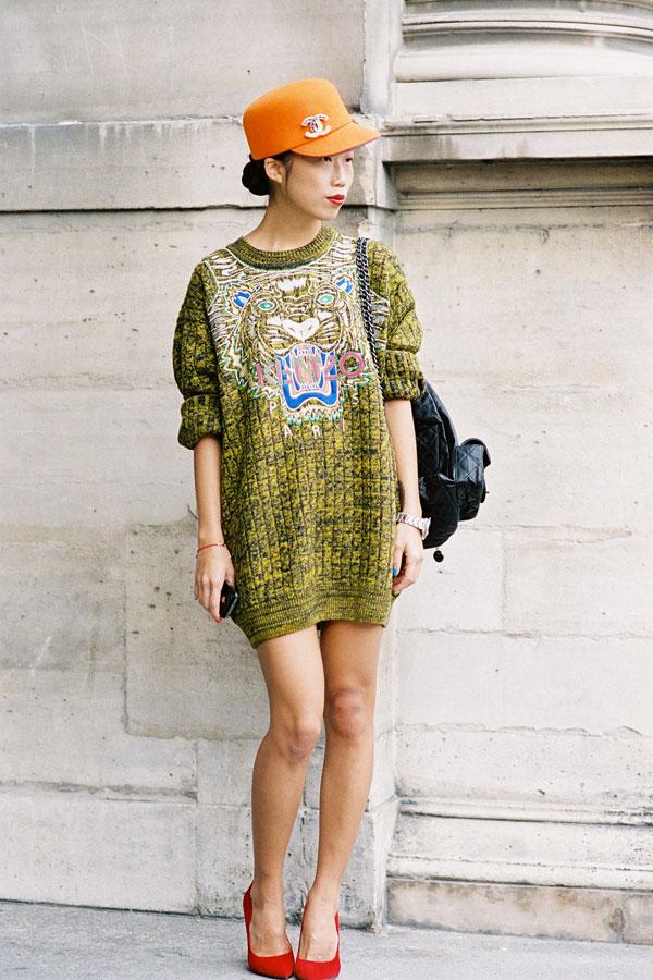 Vanessa Jackman Paris Fashion Week Ss 2013 Oxana