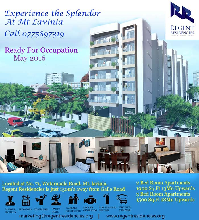 Experience the splendor at Mt. Lavinia.